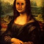 Fotomontaje de la Gioconda de Leonardo da Vinci
