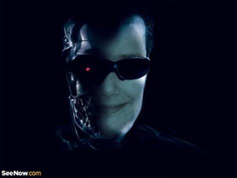 Photo effects de cine Terminator