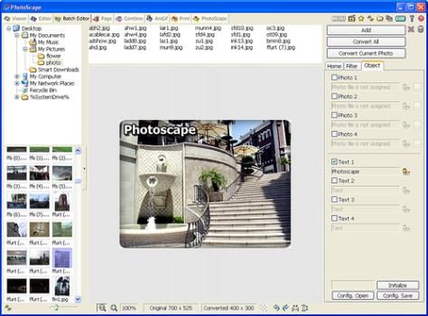 Programa para editar fotos Photoscape. Editor de Fotos
