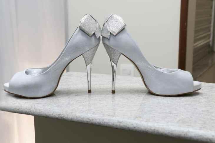 sapato de noiva branco
