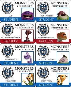 Carnets Monsters University