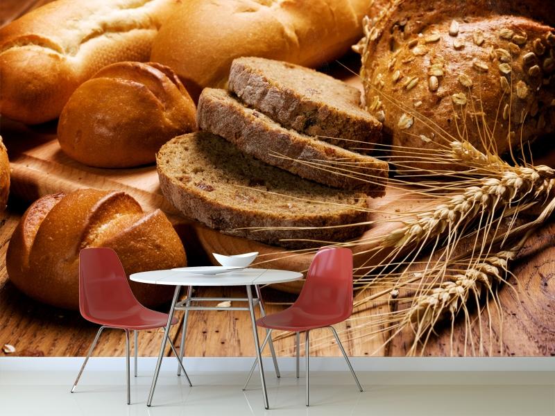 Fotomural decorativo cocina y comedor baguette fotomurales decorativos m xico decora todos - Fotomurales cocina ...
