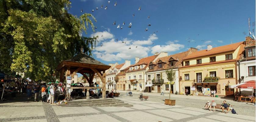 Spacer po Rynku w Sandomierzu