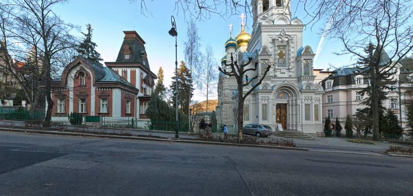 Karlove Vary – prawosławny Kościół p.w. Św. Piotra i Św. Pawła