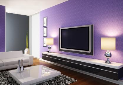ruang tamu warna ungu (6)