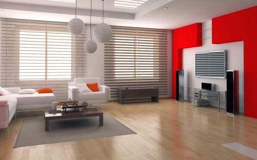 ruang tamu merah putih 1