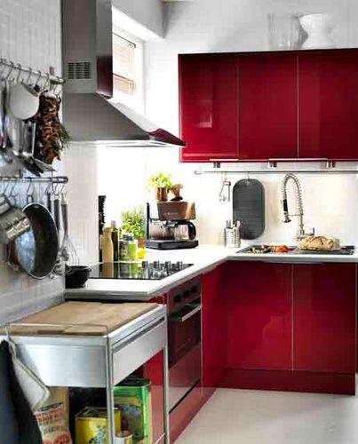 tambahkan warna di dapur