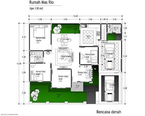 denah rumah 4 kamar (4)