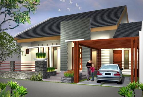 contoh rumah minimalis type 70