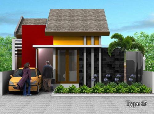rumah minimalis type 45