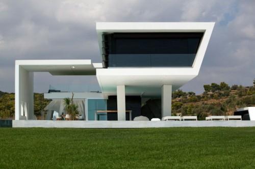 desain rumah futuristik 3