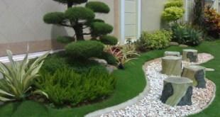 Taman rumah minimalis modern (4)