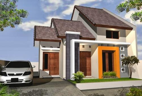 model atap rumah minimalis 4