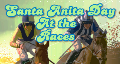 santa anita day at the races