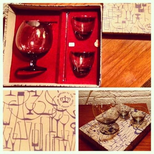 Holmegaard 'Tivoli' Cocktail Set