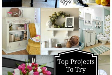 top projects to try spring home decor diy recipes and more
