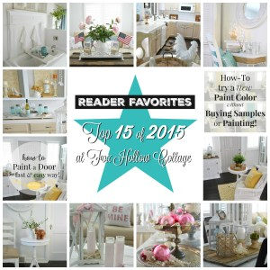 Especial 15 Diy Home Improvement Projects Diy Home Decor Ideas Easy Diy Home Decor Ideas Apartments 2015 Reader Favorties At Fox Hollow Cottage Seasonal Crafts Home Decor