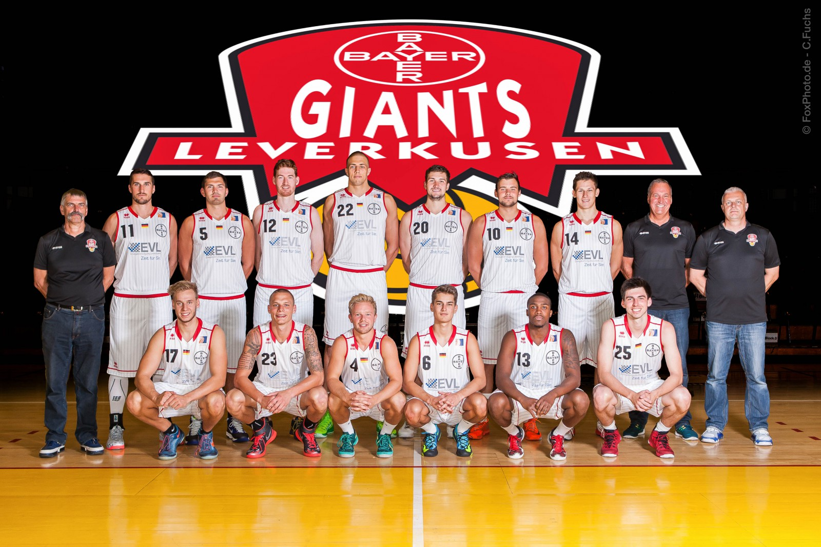Bayer Giants ProA 2014-2015©Foxphoto