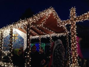 FPC Holt Float at 2014 Silver Bells in the City