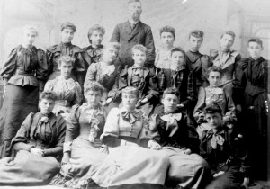 Sunday School Class of 1893