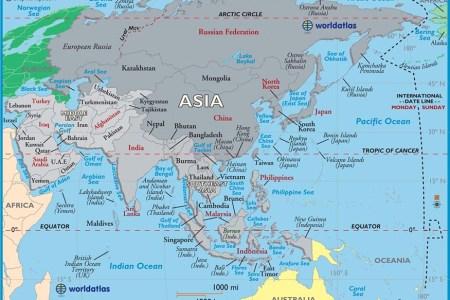 Map world asia asia map image world atlas gumiabroncs Images