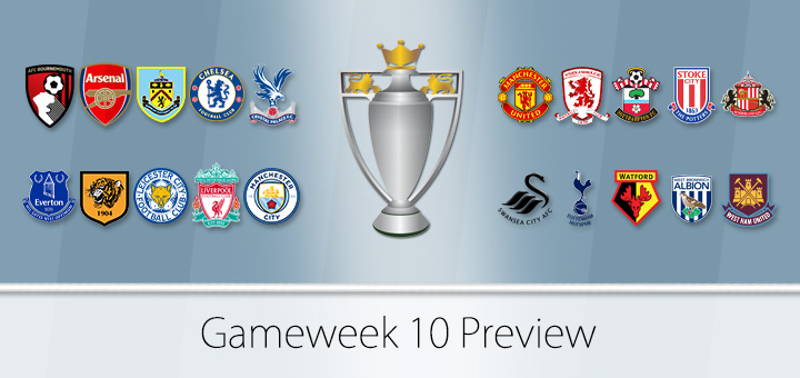 FPL Gameweek 10 Preview