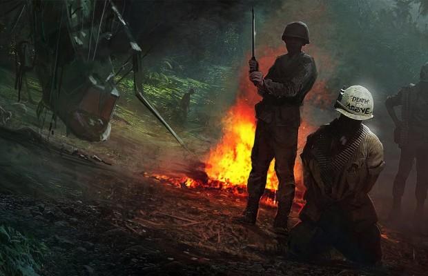 SHGames制作の『Call of Duty ベトナム(仮)』コンセプトアート