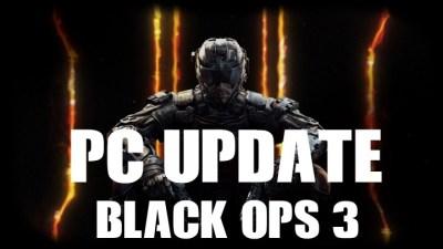 CoD:BO3:バグ修正やパフォーマンス最適化などのパッチ配信(PC)