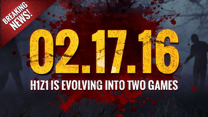 『H1Z1』がマルチとゾンビサバイバルの2タイトルに分裂、2016年秋リリース(PS4,XB1,PC)