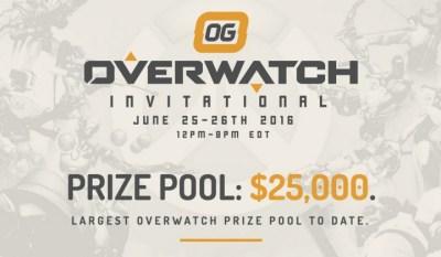 オーバーウォッチ:賞金総額25,000ドルの招待制トーナメント「OG Invitational」でTeam EnVyUsが圧勝