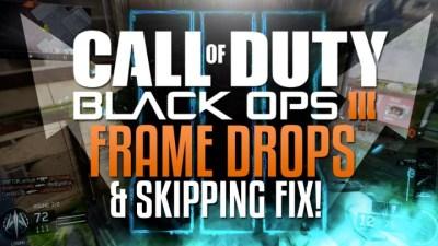 CoD:BO3:PS4にてフレーム落ちやスキップが発生中、対処法はこれ