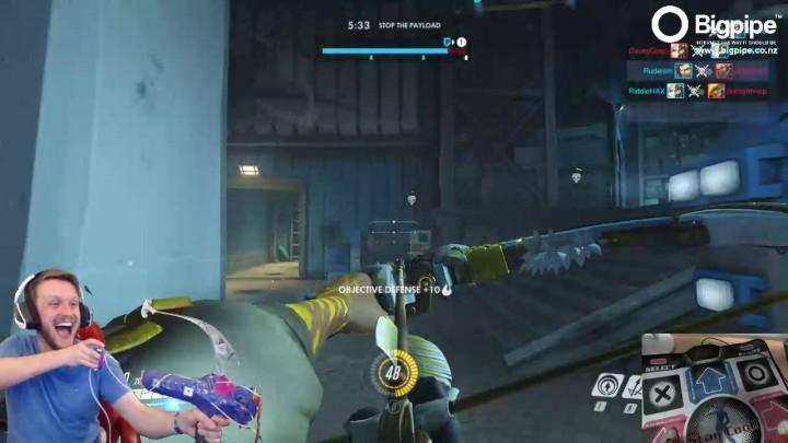 オーバーウォッチ: おもちゃの弓でハンゾーを操作するプレイヤーが登場