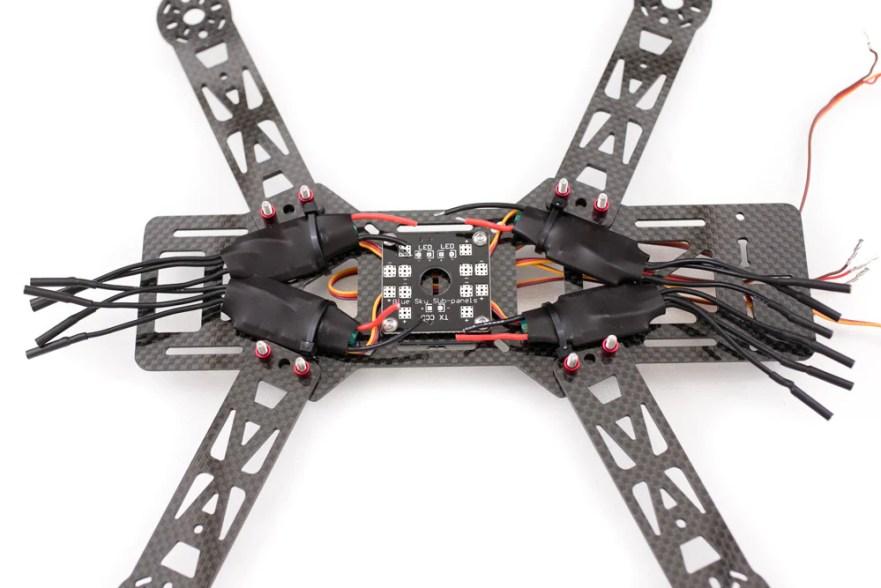 emax 250 quadcopter build