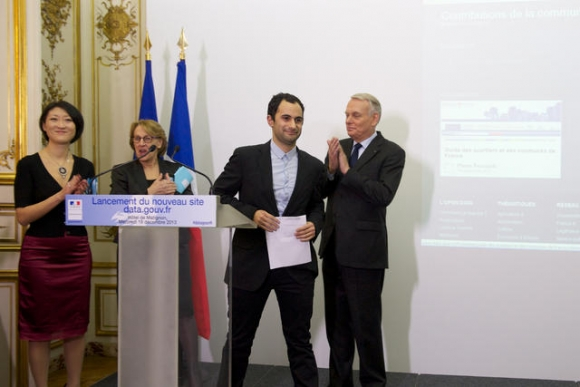OKF France was represented by Samuel Goëta at the data.gouv.fr launch event