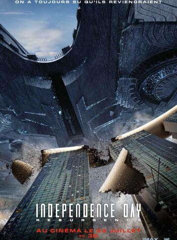 INDEPENDENCE DAY : RESURGENCE : Affiche