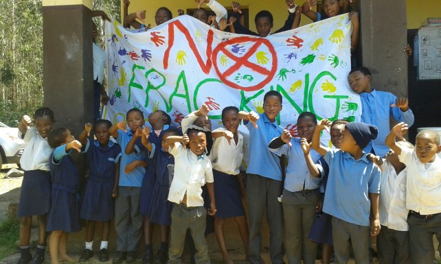 Lions River Primary School NO Fracking