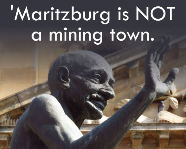Maritzburg is not a mining town