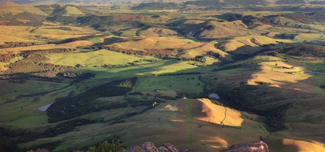 KZN Midlands landscape - worth fracking? by Jethro Bronner
