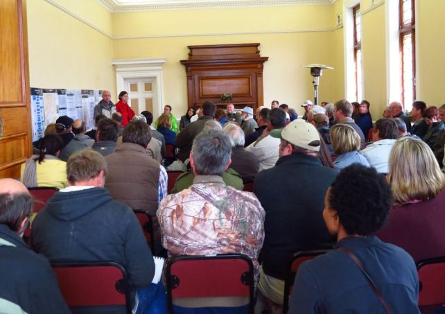 public meeting harrismith