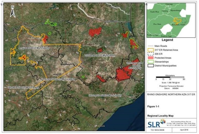 northern-kzn area Rhino Application for Oil & Gas