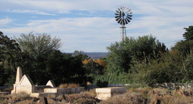 Karoo graveyard