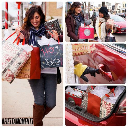 Shopping fun with Marie & the Ford Fiesta