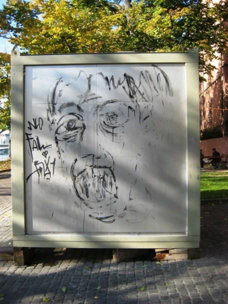 Bâle 24.10.11 man face