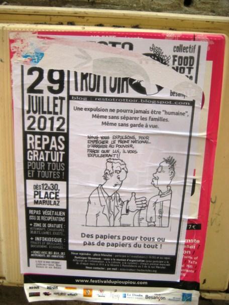 besancon Resto Trottoir 29 juillet 2012