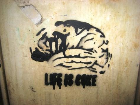 METZ 08.01.2013 STREET ART_pochoir_life is coke