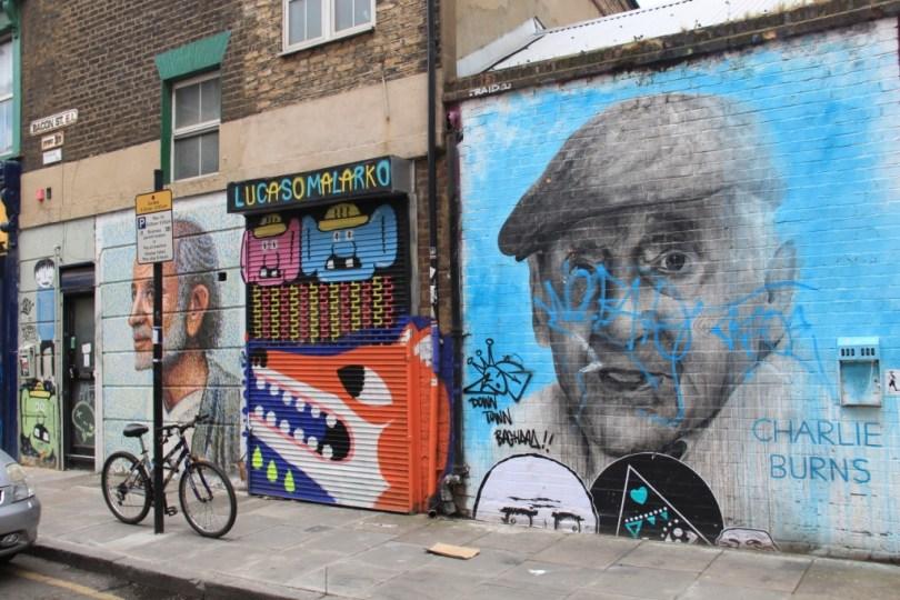 street art - Londres, UK - graffiti façades