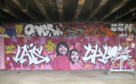besancon - graffiti - mars 2013 - lil chicas girls