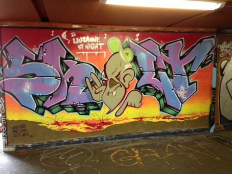 2013-06-17 Lausanne by night - graffiti