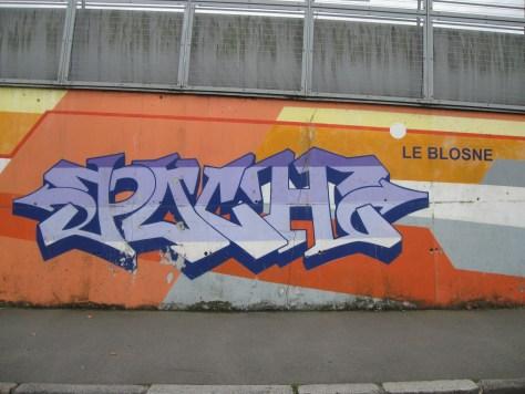 graffiti Rennes Aout 2012 - POCH