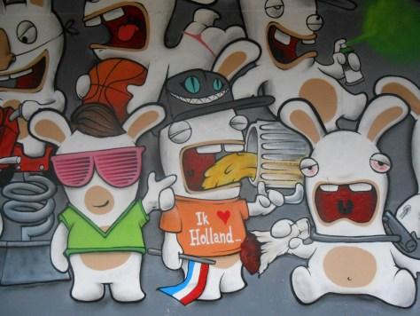 besancon, graffiti, avril 2014 Lapins Crétins Gang - Mesh - Wyker - Nacle (4)